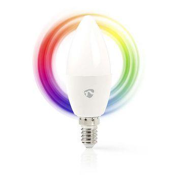Nedis WiFi Smart LED-lampa / Color – E14
