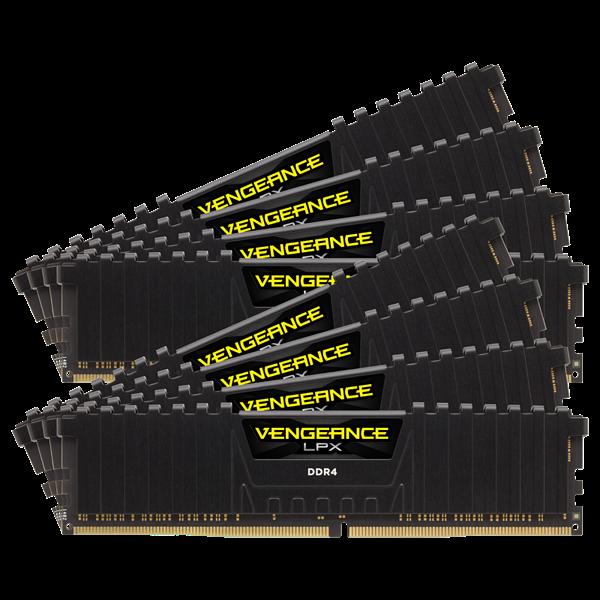 Corsair Vengeance LPX 128GB (8x16GB) / 3200MHz / DDR4 / CL16 / CMK128GX4M8X3200C16
