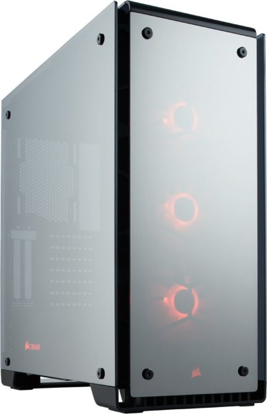 Corsair Crystal 570X / iCUE-RGB / Tempered Glass / Mirror Black