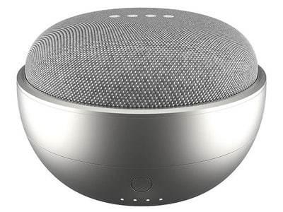 Ninety7 - Jot - Batteripack till Google Home Mini - Silver