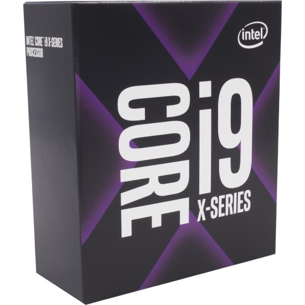 Intel Core i9-9900X - 10 kärnor / 20 trådar / 3.5 GHz (4,4 GHz Turbo) / 19.25 MB Cache / Socket 2066