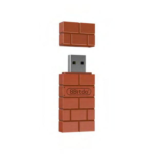 8Bitdo USB Wireless Adapter (Fyndvara - Klass 1)