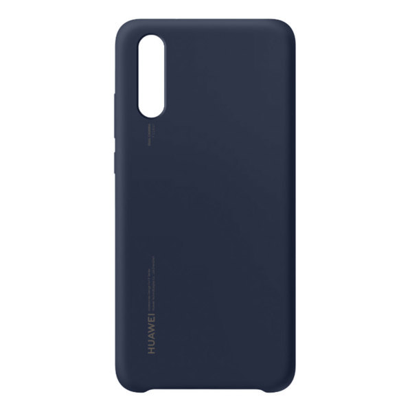 Huawei P20 / Silicone Cover – Blå (Fyndvara – Klass 1)