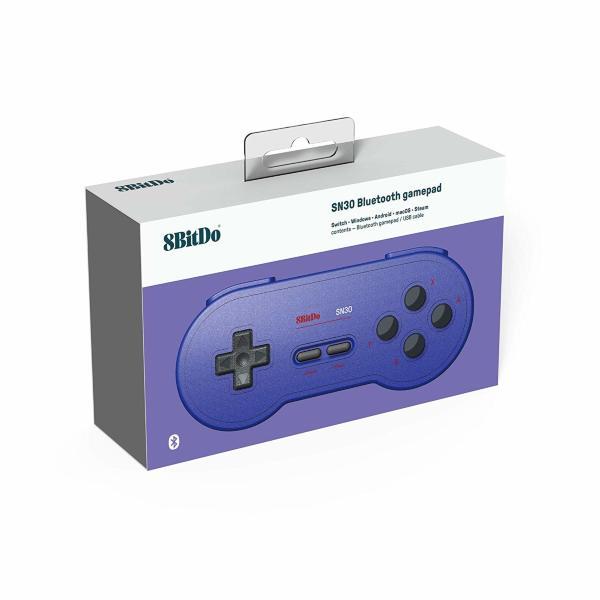 8Bitdo SN 30 GP Blue Edition Gamepad