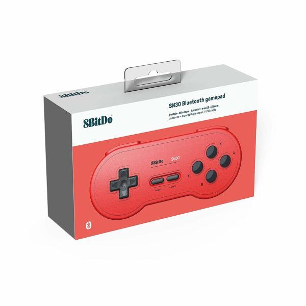 8Bitdo SN 30 GP Red Edition Gamepad