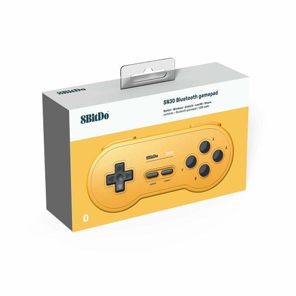 8Bitdo SN 30 GP Yellow Edition Gamepad