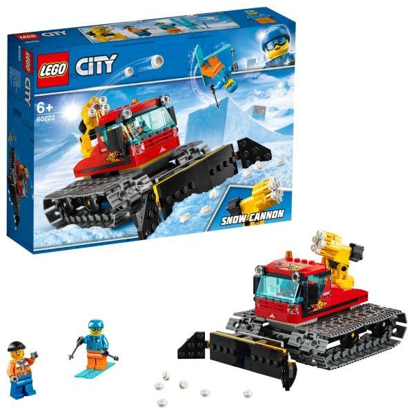 LEGO City Great Vehicles Pistmaskin 60222