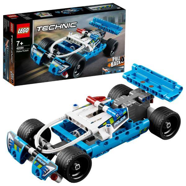 LEGO Technic Polisjakt 42091