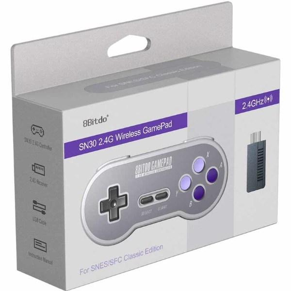 8Bitdo SN30 2.4G Wireless Gamepad