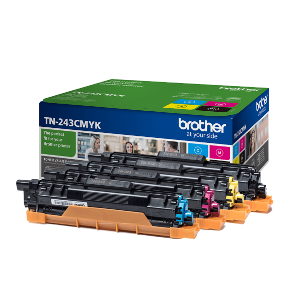 Brother TN243CMYK Toner ValuePack - 4x1000 sidor