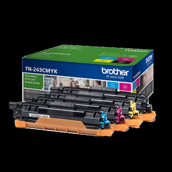 Brother TN243CMYK Toner ValuePack – 4×1000 sidor