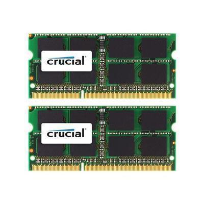 Crucial 8GB (2x4GB) / 1333MHz / DDR3 / CL9 / CT2K4G3S1339M (Apple)