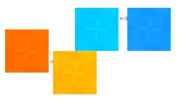 Nanoleaf - Light Panels - Canvas x4 Extension