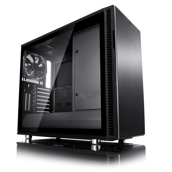 Fractal Design Define R6 / USB-C / Tempered Glass - Svart