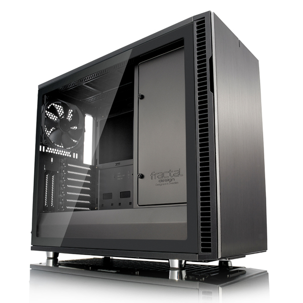 Fractal Design Define R6 / USB-C / Tempered Glass / Gunmetal