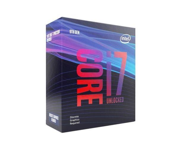Intel Core i7-9700KF – 8 kärnor / 8 trådar / 3.6 GHz (4.9GHz Turbo) / 12MB / Socket 1151 / Utan IGP