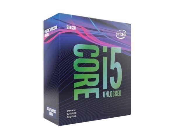 Intel Core i5-9600KF - 6 kärnor / 6 trådar / 3.7 GHz (4.6GHz Turbo) / 9MB / Socket 1151 / Utan IGP