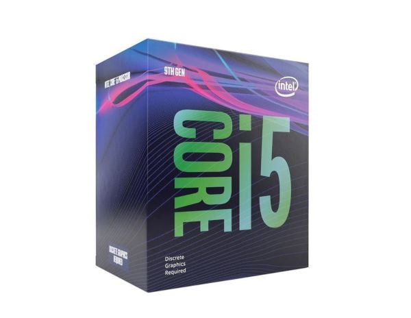 Intel Core i5-9400F – 6 kärnor / 6 trådar / 2.9 GHz (4.1 GHz Turbo) / 9MB / Socket 1151 / Utan IGP