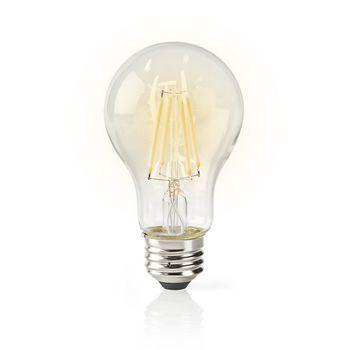 Nedis WiFi Smart LED-lampa / Clear Filament – E27
