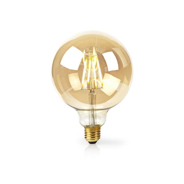 Nedis WiFi Smart LED-lampa / 125 mm / Filament Amber - E27