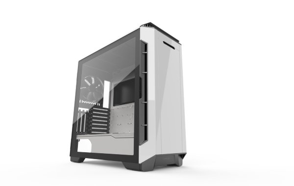 Phanteks Eclipse P600S Tempered Glass - Glacier White