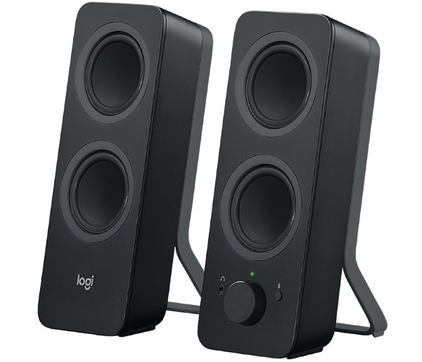 Logitech Stereo Speakers Z207 (2.0) – Svart