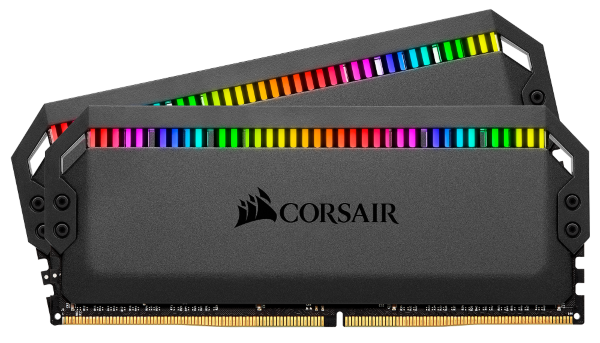 Corsair Dominator Platinum RGB 16GB (2x8GB) / 3600MHz / DDR4 / CL18 / CMT16GX4M2C3600C18