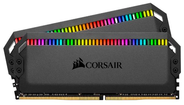 Corsair Dominator Platinum RGB 16GB (2x8GB) / 3200MHz / DDR4 / CL16 / CMT16GX4M2C3200C16