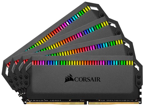 Corsair Dominator Platinum RGB 64GB (4x16GB) / 3600MHz / DDR4 / CL18 / CMT64GX4M4K3600C18
