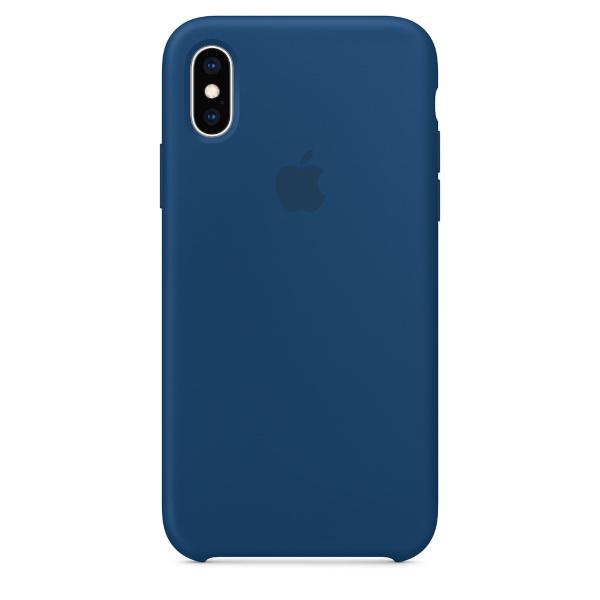 iPhone XS / iPhone X / Apple Silicone Case – Blue Horizon (Fyndvara – Klass 1)