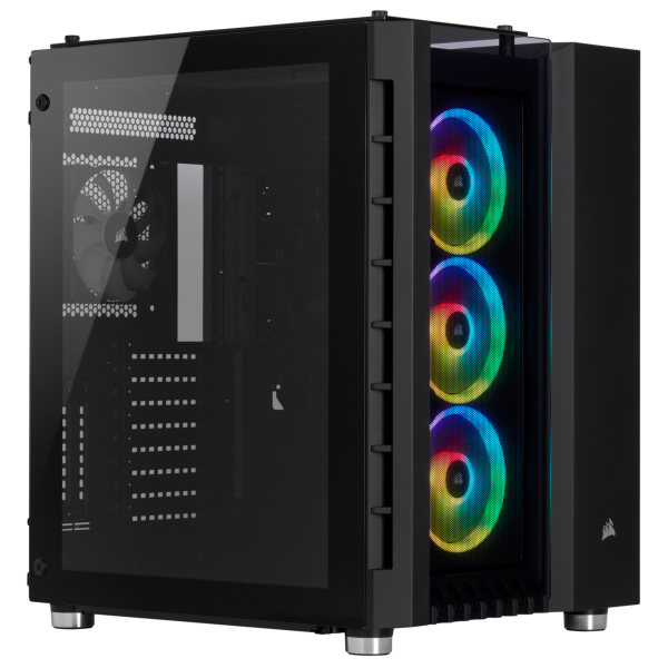Corsair Crystal 680X / iCUE-RGB / Tempered Glass - Svart