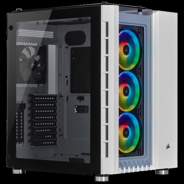 Corsair Crystal 680X / iCUE-RGB / Tempered Glass - Vit