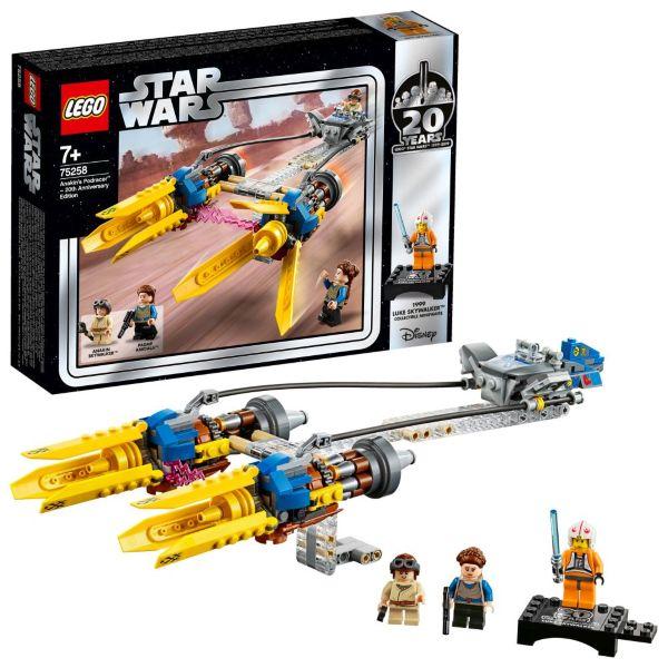 LEGO Star Wars Anakin's Podracer 20-årsjubileumsutgåva 75258