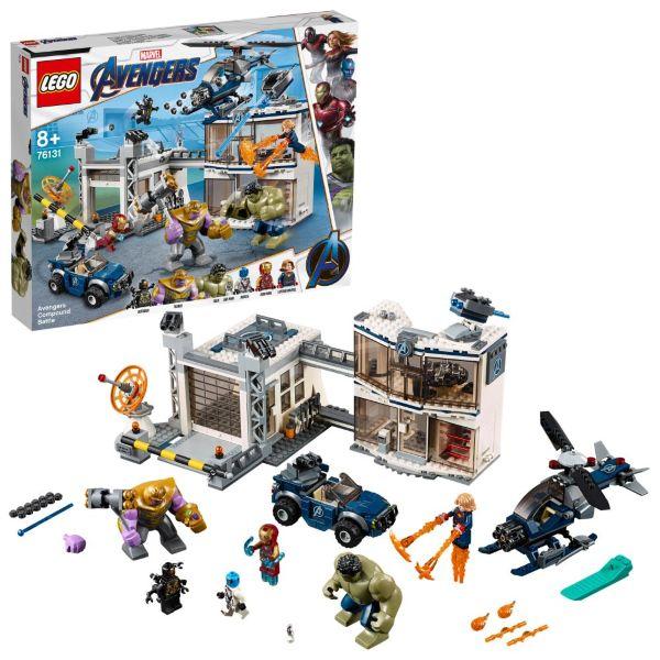 LEGO Super Heroes Avengers kasernstrid 76131