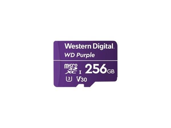 WD Purple High Endurance – 256GB / microSDXC / Class 10 / UHS-I