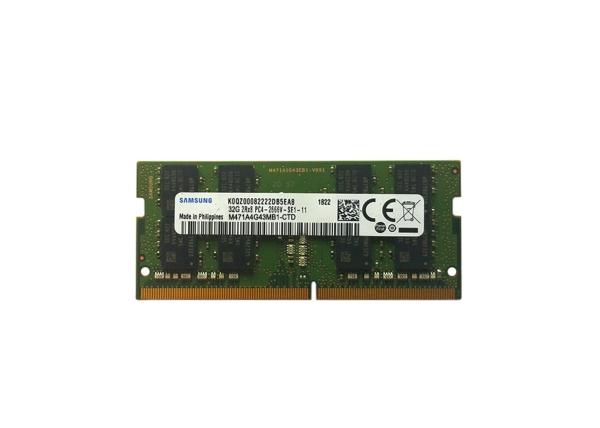 Samsung 32GB SO-DIMM / 2666Mhz / DDR4 (M471A4G43MB1-CTD)