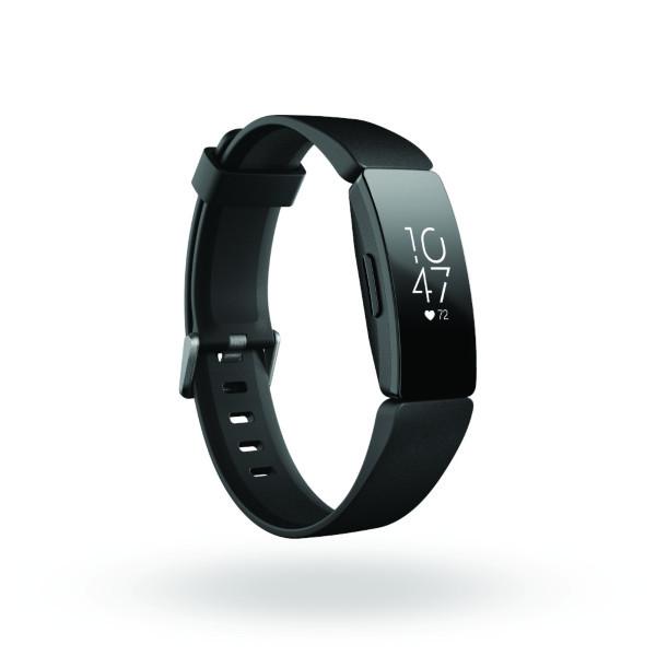 Fitbit Inspire HR - Svart (Fyndvara - Klass 2)