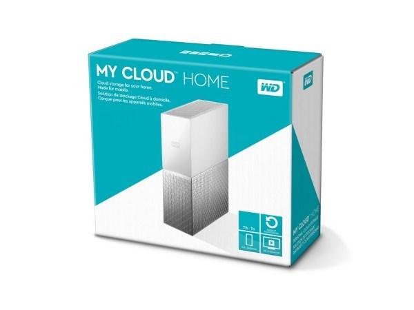 WD My Cloud Home 3TB NAS (Fyndvara - Klass 3)