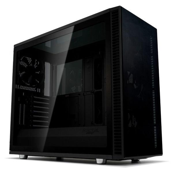 Fractal Design Define Vision S2 / Tempered Glass - Blackout