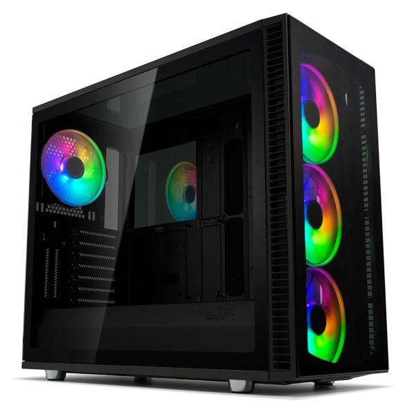 Fractal Design Define Vision S2 / A-RGB / Tempered Glass - Black