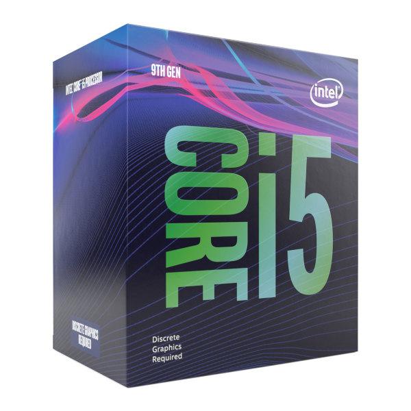 Intel Core i5-9500F - 6 kärnor / 6 trådar / 3.0 GHz (4.4 GHz Turbo) / 9MB / Socket 1151 / Utan IGP