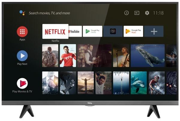 "TCL 32"" 32ES580 - HD / HDR / Android TV (Fyndvara - Klass 1)"