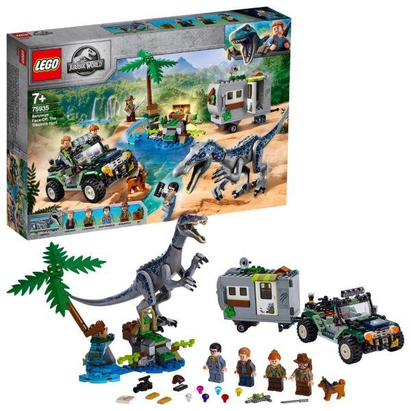LEGO Jurassic World Strid mot Baryonyx: Skattjakten 75935
