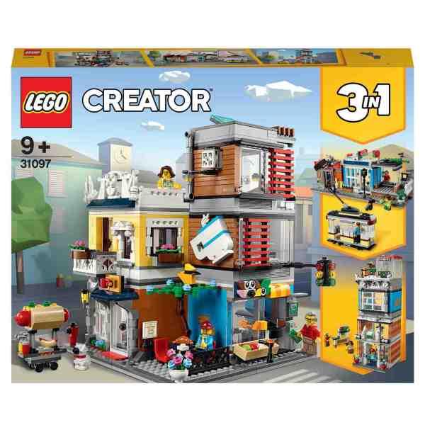 LEGO Creator Djuraffär och kafé 31097