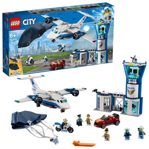 LEGO City Police Luftpolisens flygbas 60210
