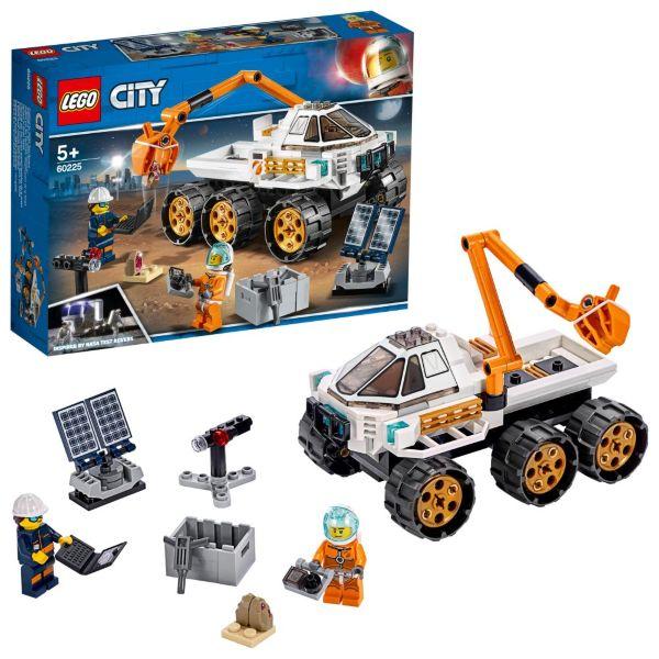 LEGO City Space Port Testkörning av rover 60225