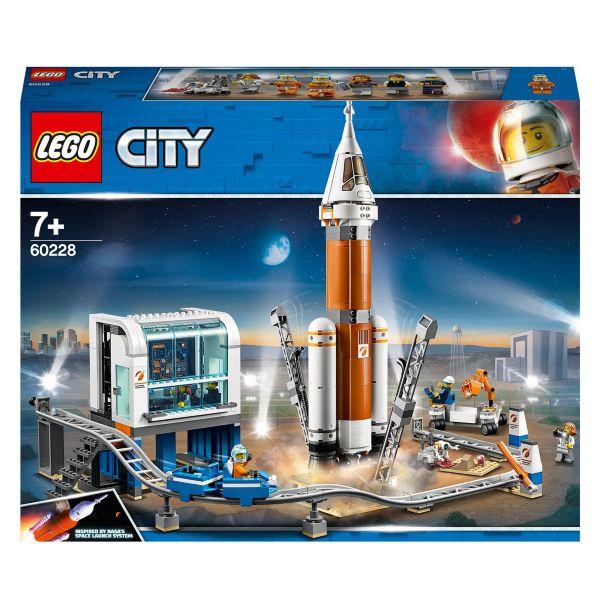 LEGO City Space Port Rymdraket och uppskjutningskontroll 60228