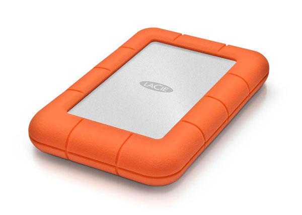 LaCie Extern Hårddisk Rugged Mini 1TB (USB 3.0) (Fyndvara - Klass 1)