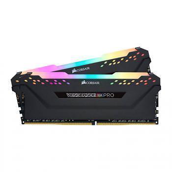 Corsair Vengeance RGB PRO 32GB (2x16GB) / 3466MHz / DDR4 / CL16 / CMW32GX4M2C3466C16 - Svart