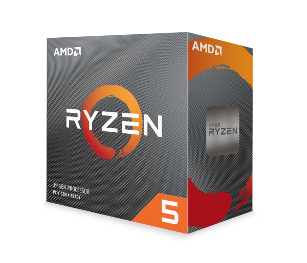 AMD Ryzen 5 3600 / 6 cores / 12 threads / 3.6GHz (4.2 GHz Turbo)